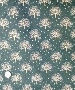 Arboles fondo verde