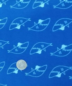 Jersey Katia fabrics Little Shark