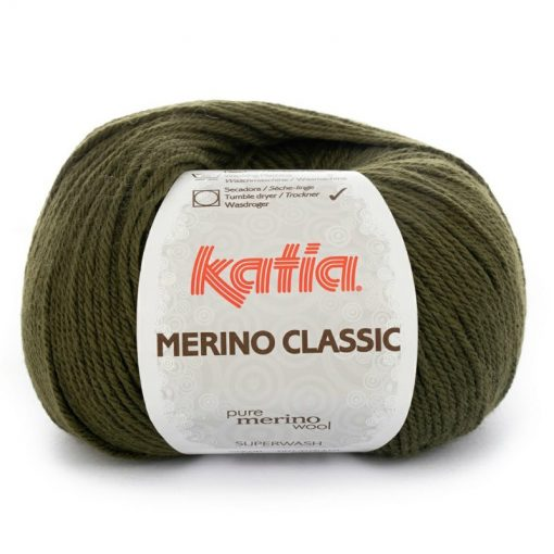 Merino Classic 16 Verde oscuro